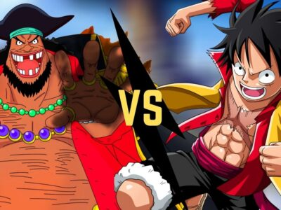 Blackbeard vs luffy