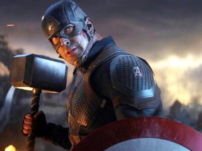 captain america lifting mjolnir