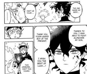 Licht's son inside Yuno