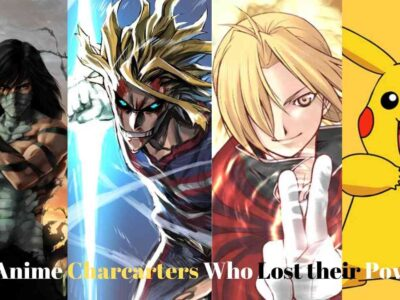 Top anime characters who lost their powers