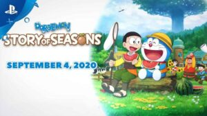 Doraemon: Story of Seasons Game Gets PS4 Version in July