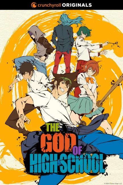 The God of High School Anime Reveals Trailer, Cast, Staff
