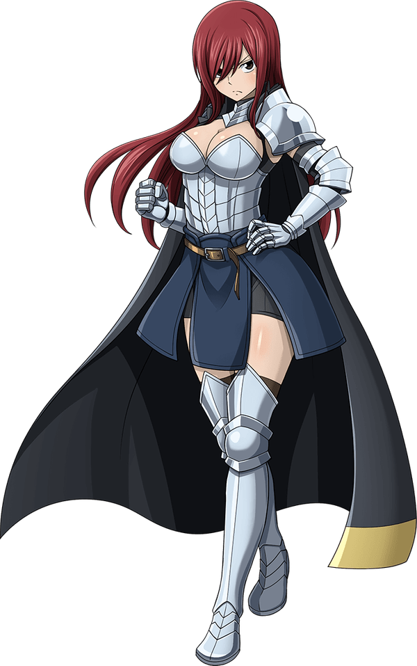 Top 5 Best Side Anime Characters Of All Times | Erza Scarlet