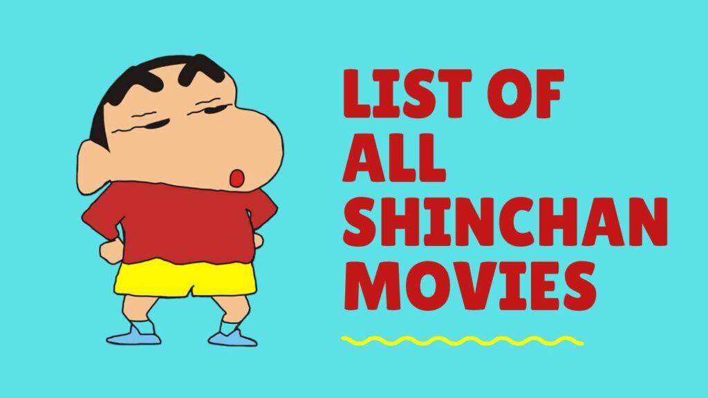List of Crayon Shin-chan Movie