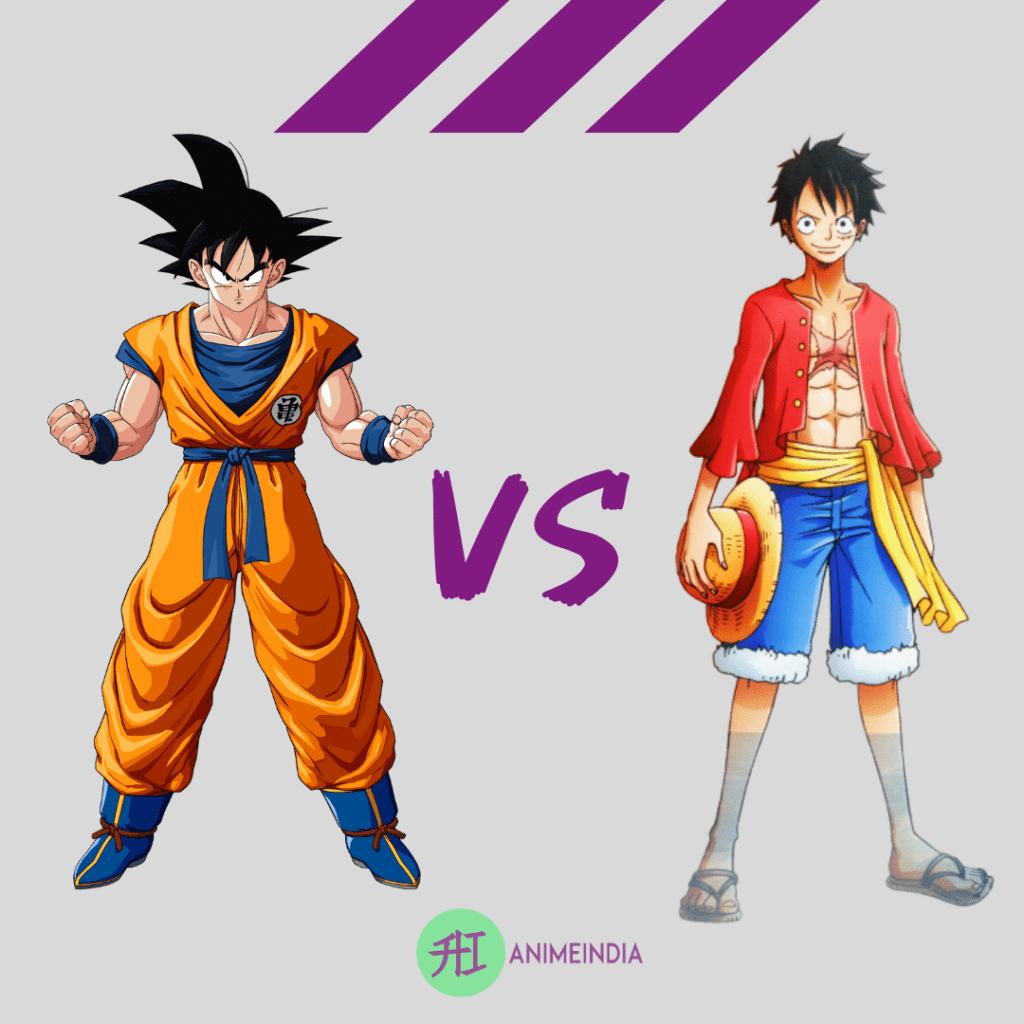 Luffy VS Goku | Who will win ? Full Fight