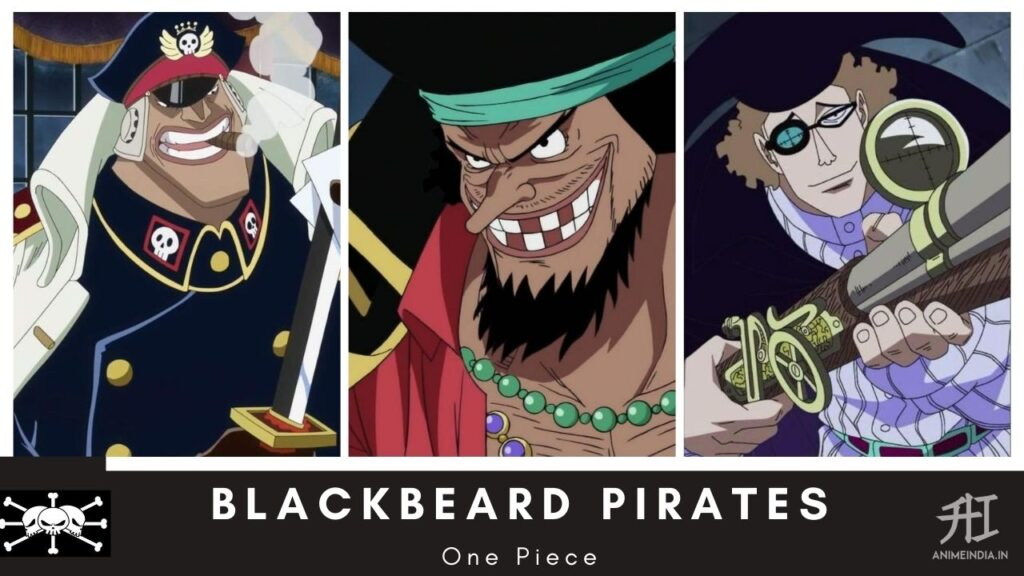 Blackbeard Pirates - One Piece