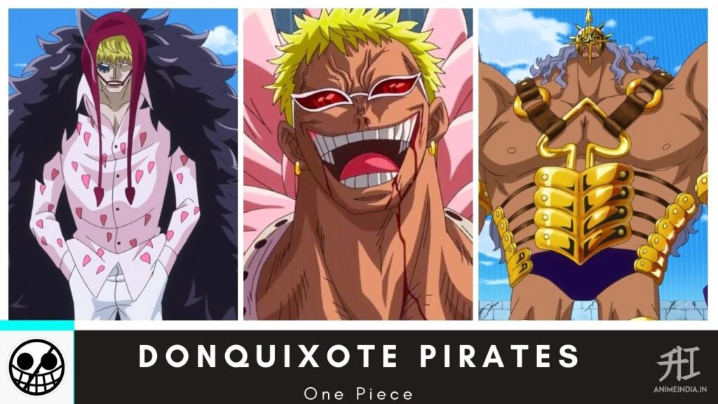 Donquixote Pirates - One Piece