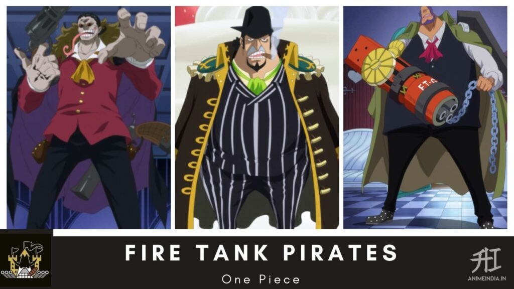 Fire Tank Pirates - One Piece