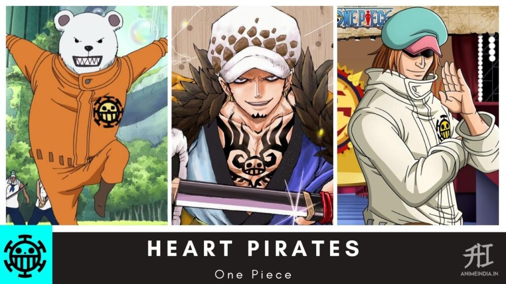 Heart Pirates - One Piece