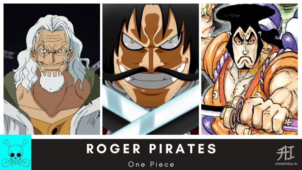 Roger Pirates Crews - One Piece