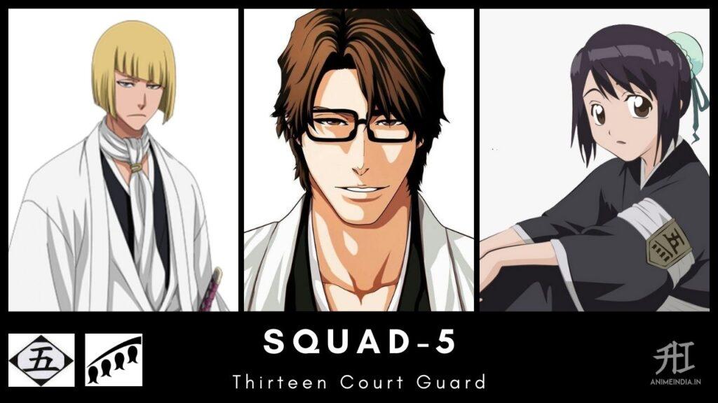 Squad-5 Thirteen Court Guard - Bleach