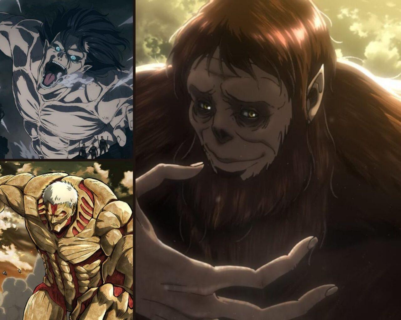 Top 10 Strongest Titans - Attack On Titan » Anime India