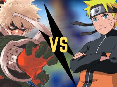 Bakugo VS Naruto Uzumaki
