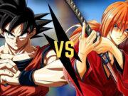 Goku VS Himura Kenshin