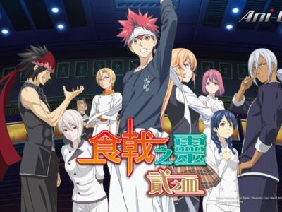Ani-One Asia Adds Food Wars!: Shokugeki no Soma The Second Plate (Season 2) As 1 Million Gift