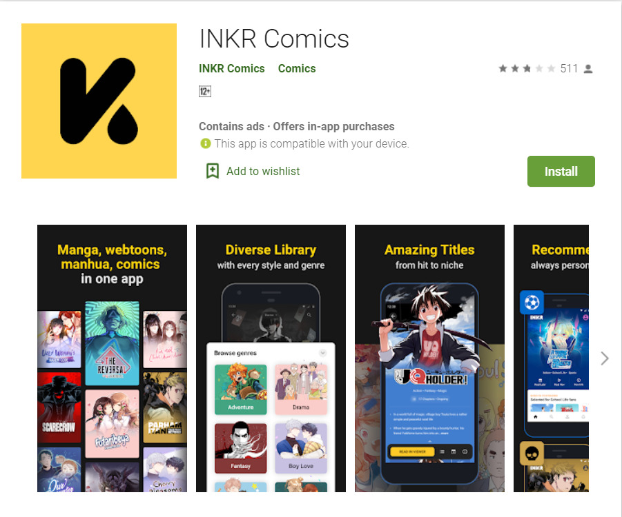 INKR Comics