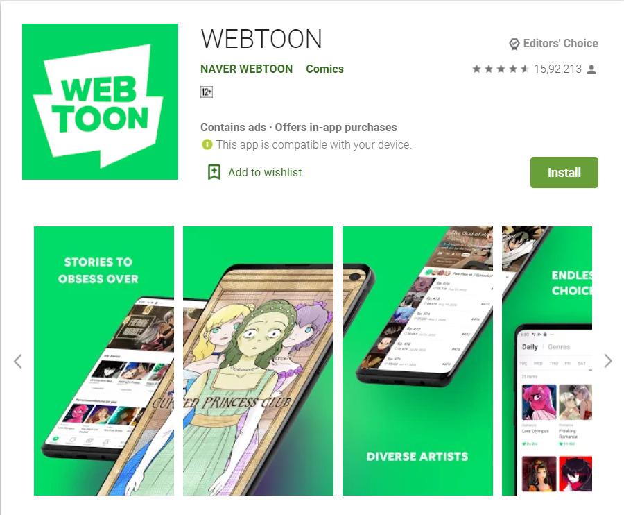 WEBTOON App