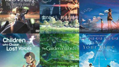 Netflix Adds 4 Makoto Shankai Anime Movies