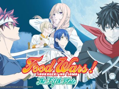 Netflix India Streams Food Wars! Shokugeki no Soma: The Fifth Plate Anime