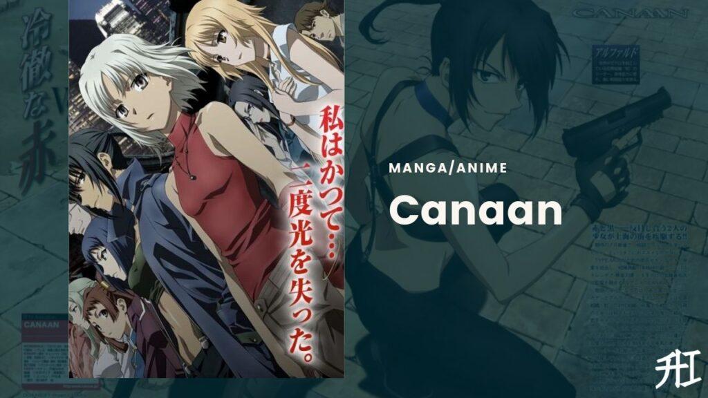Canaan - yuri anime